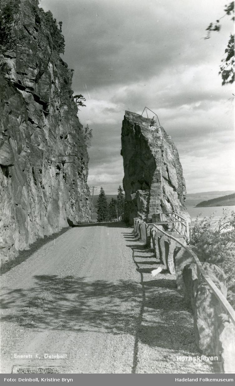 Riksvegen ved Hornskleiva