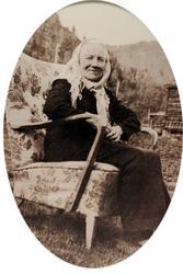 Portrett av Kari Brandsdal i Grindheim.