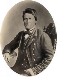Portrett av Nils Solberg, Bjelland.