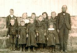 Omgangskole elever Leland i Grindheim.