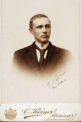 Portrett av Theodor Ågedal, Grindheim
