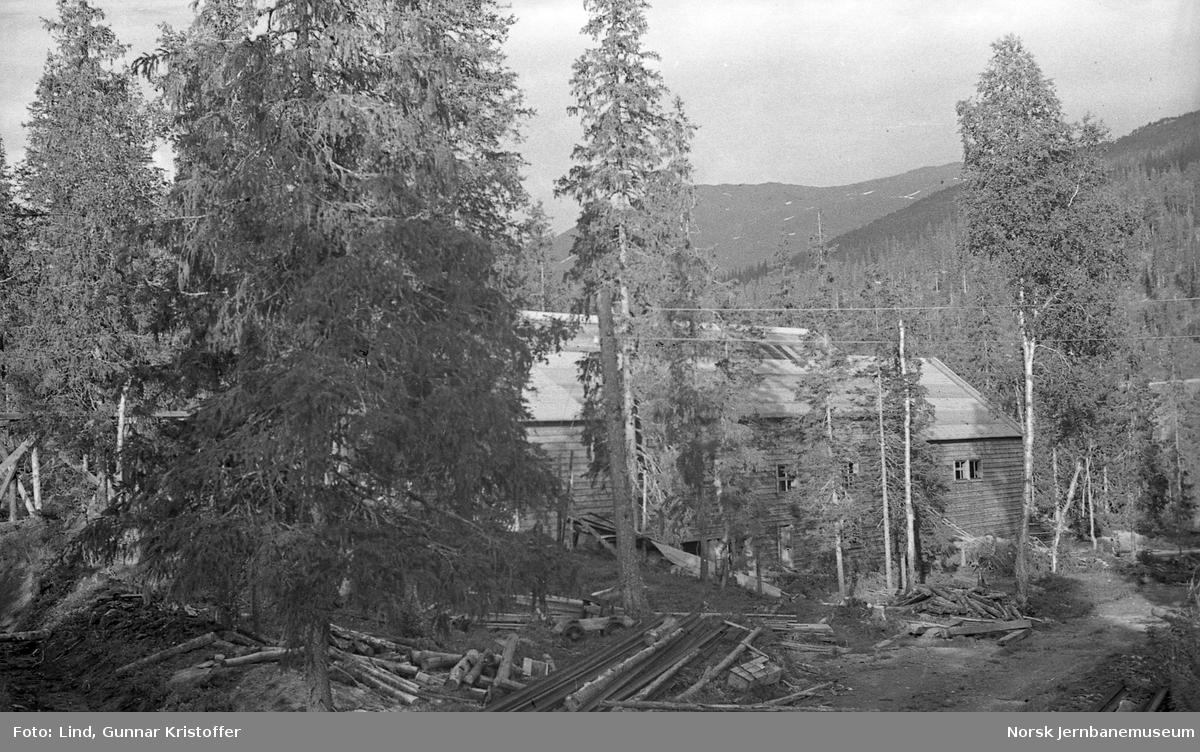 Nordlandsbaneanlegget : Almli torvbuntfabrikk