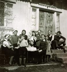 Familietreff på Ytre Øydna, Grindheim Audnedal.
