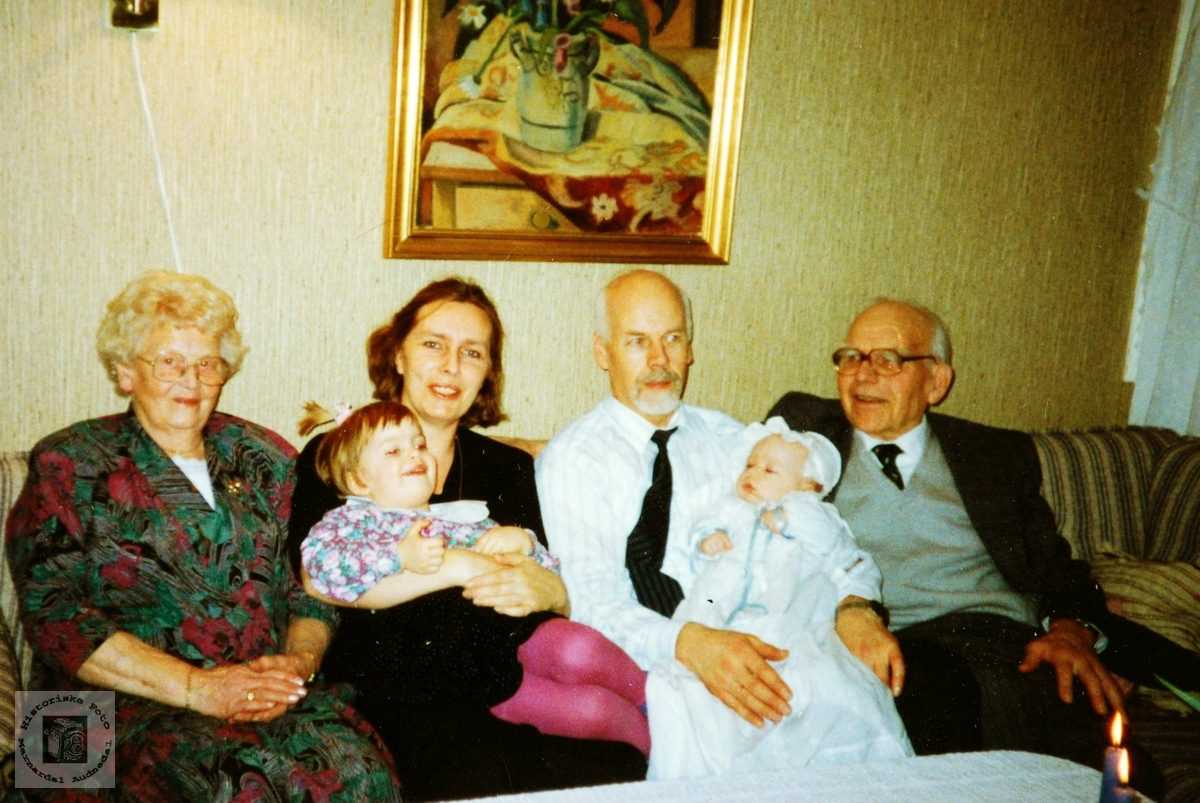 Familien Håland. Audnedal.