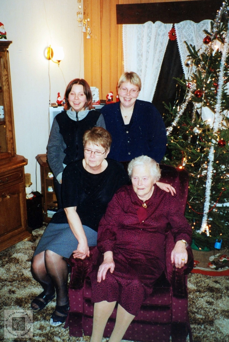 Fire generasjoner Mydland. Audnedal.