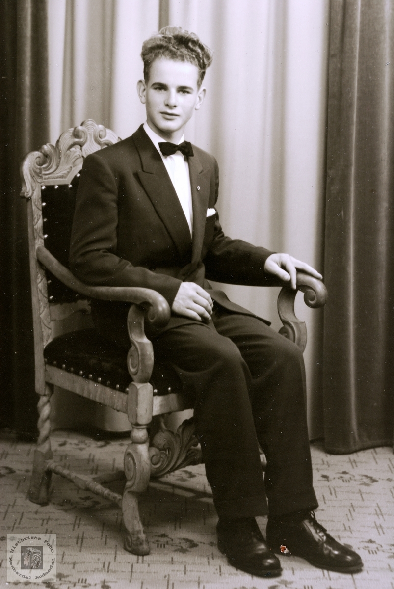 Portrett av Helge Byremo. Grindheim.