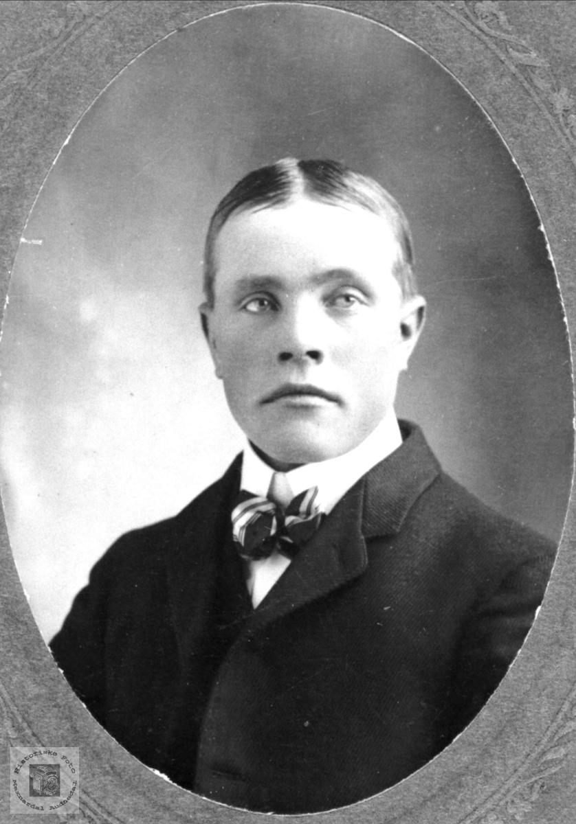 Portrett av Jakob O. Roland, Bjelland.