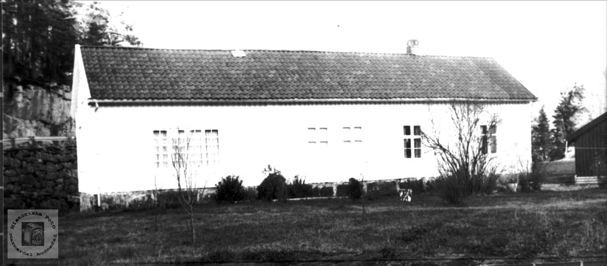 """""""Klokkargarden"""", Trygsland i Bjelland."""