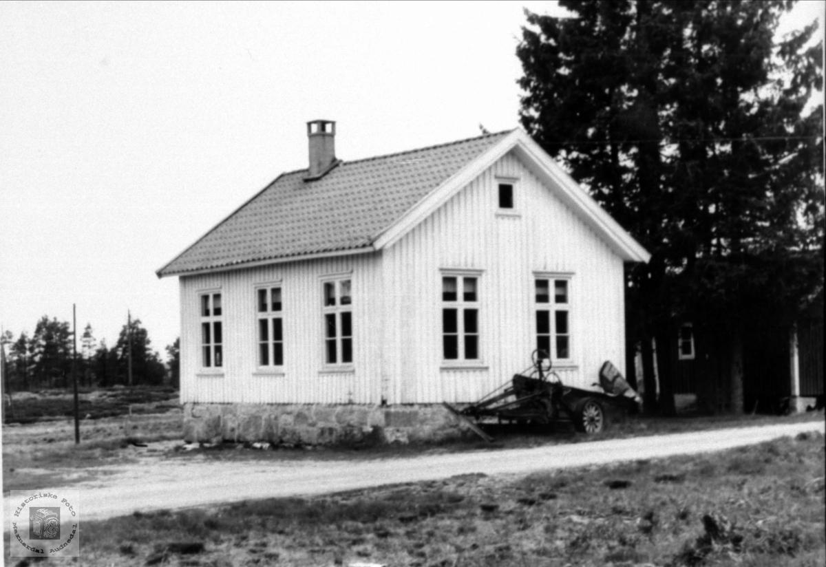 Skolehus. Myran skole, Bjelland.