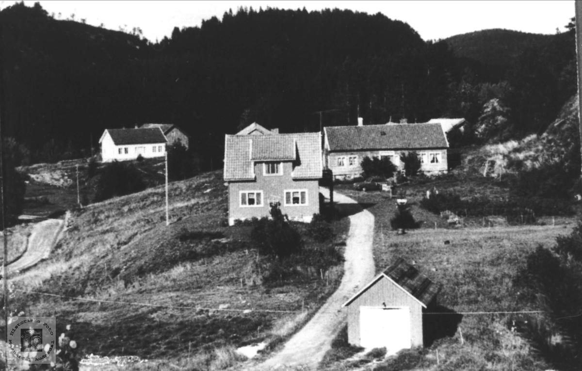 Gardsbruk Finsådal i Øyslebø.