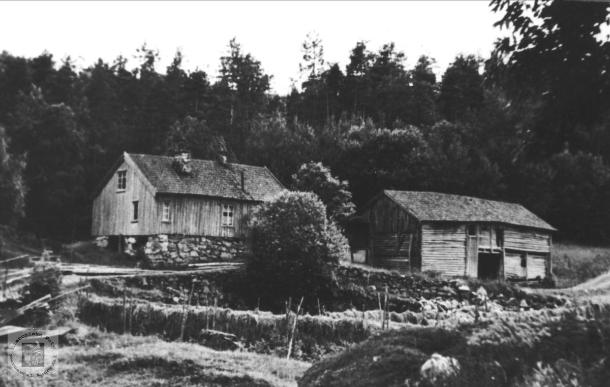 Fidjestøl i Øyslebø.