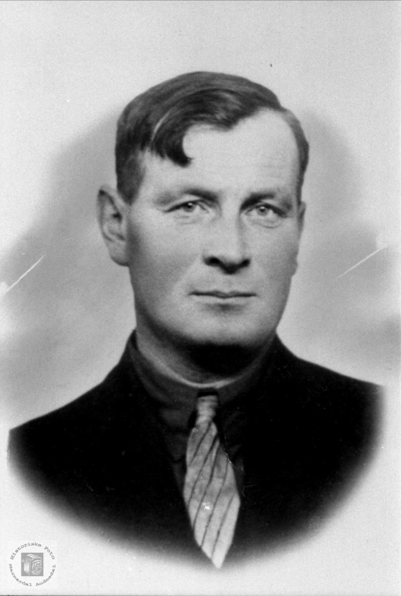 Portrett av Olaf Grimestad, Øyslebø.