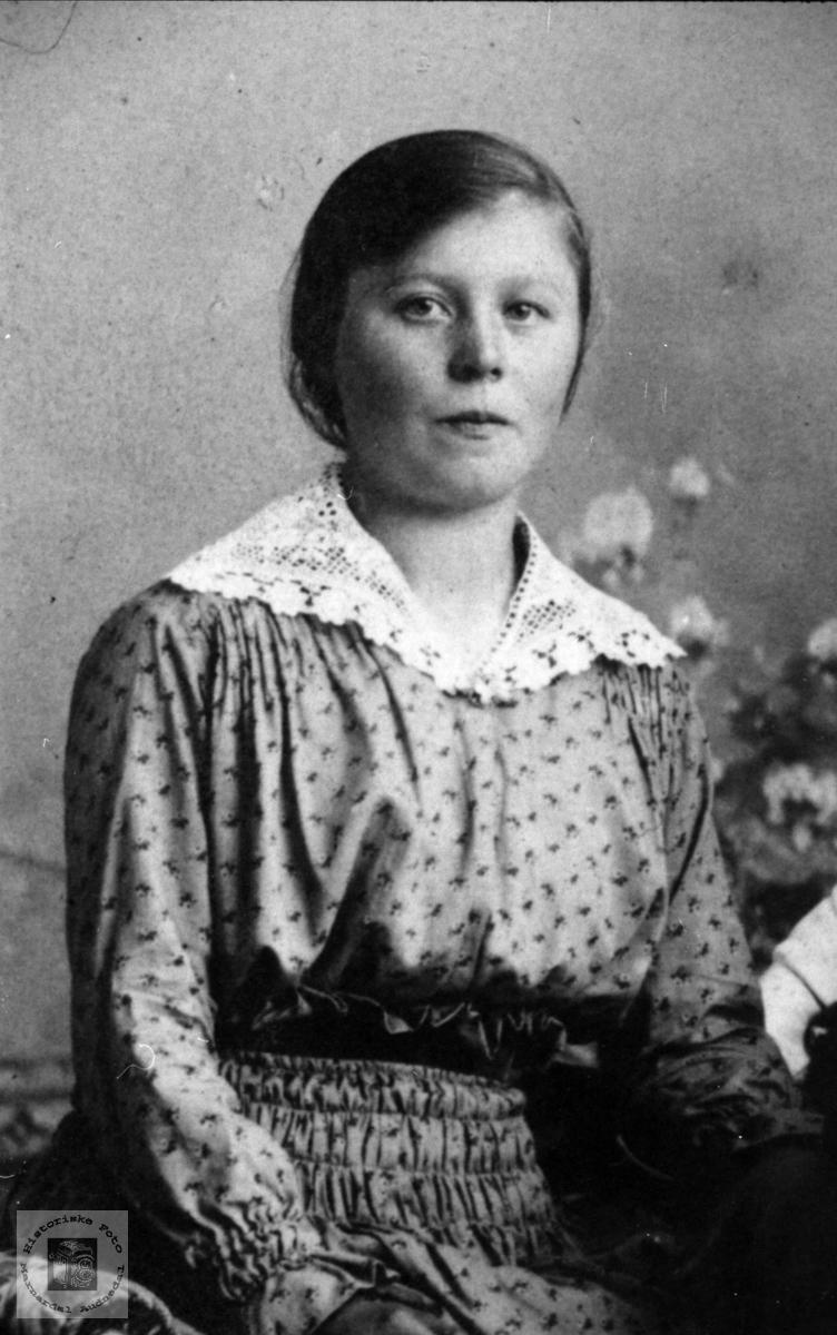 Portrett av Ingeborg Kimestad, Finsland.