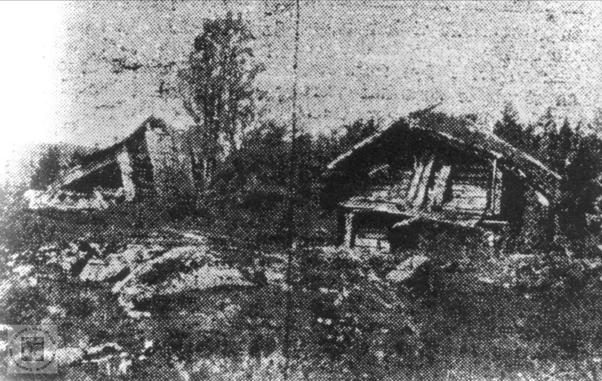 Husmannsplassen Hærås under Duken, Sveinall i Laudal.