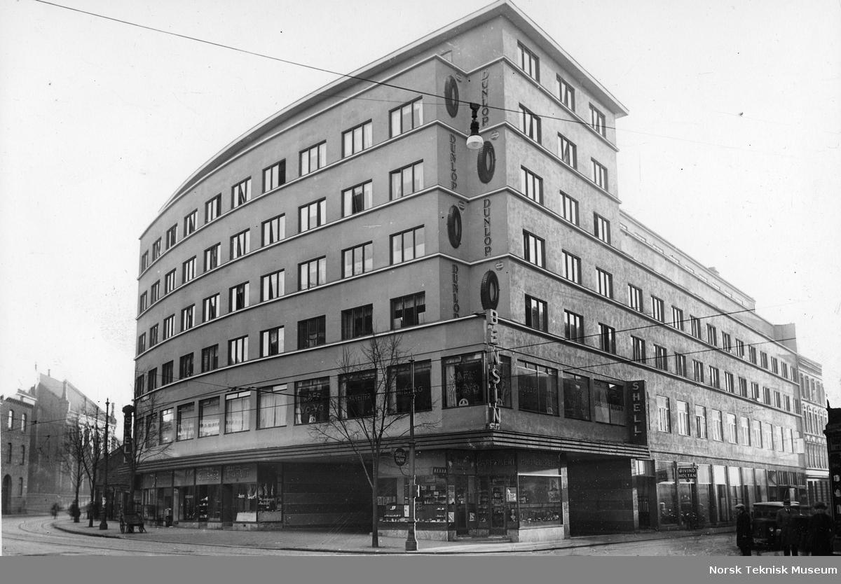 Norsk Glødelampefabrikk Norma A/S (senere Luma). Fabrikkbygning