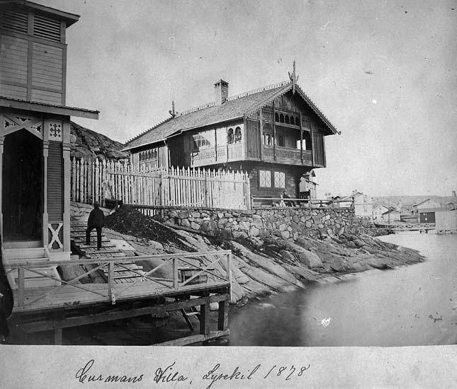 """Curmans Villa, Lysekil 1878"""