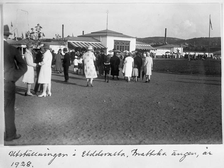 Uddevallautställningen 1928 på Brattska ängen, Uddevalla