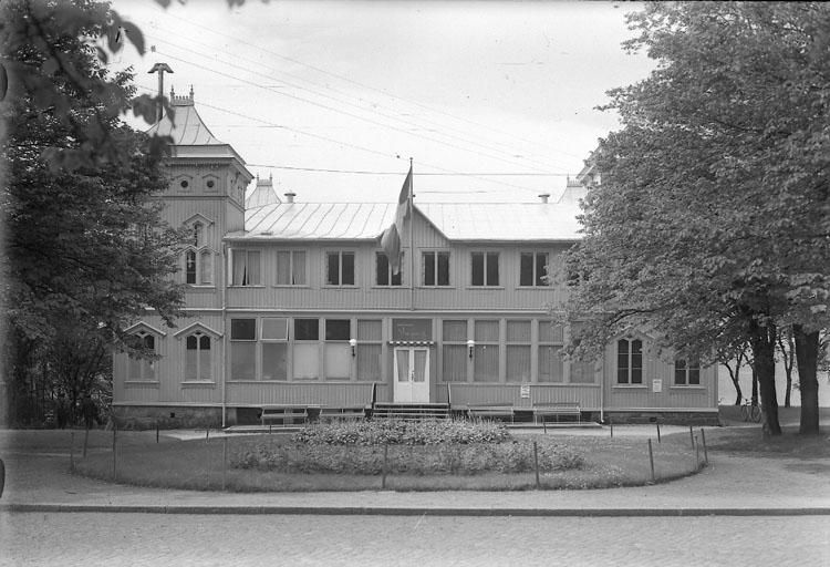 """Enligt AB Flygtrafik Bengtsfors: """"Strömstad rest. Skagerack Bohuslän""""."""