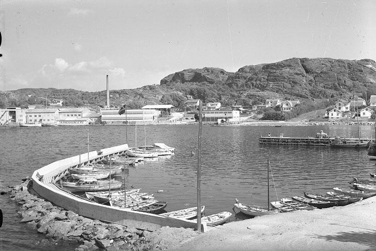 """Enligt AB Flygtrafik Bengtsfors: """"Ellös fr. annexet Bohuslän""""."""