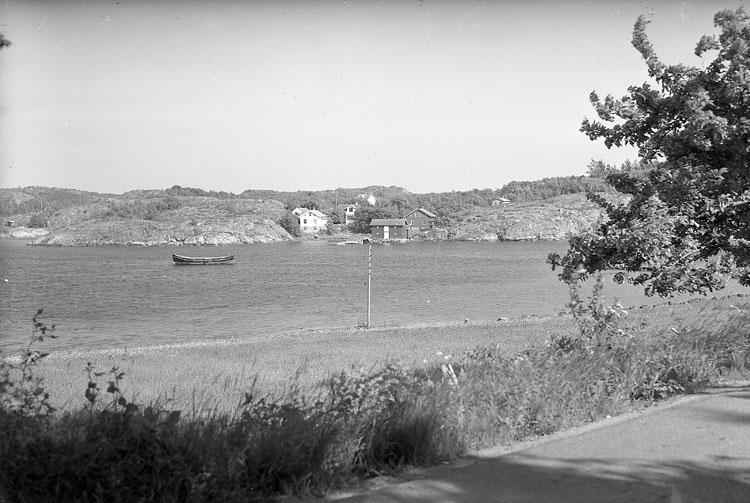 """Enligt AB Flygtrafik Bengtsfors: """"Fiskebäckskil Sälvik Bohuslän""""."""