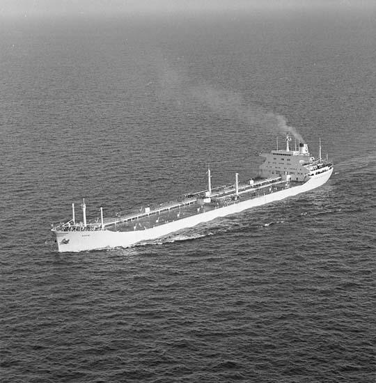 M/T Borwi DWT. 77.950 Rederi Kommanditselskapet Harwi, Rolf Wigand, Bergen Norge Kölsträckning 64-12-17 Nr. 208 Leverans 65-12-03 Tankfartyg