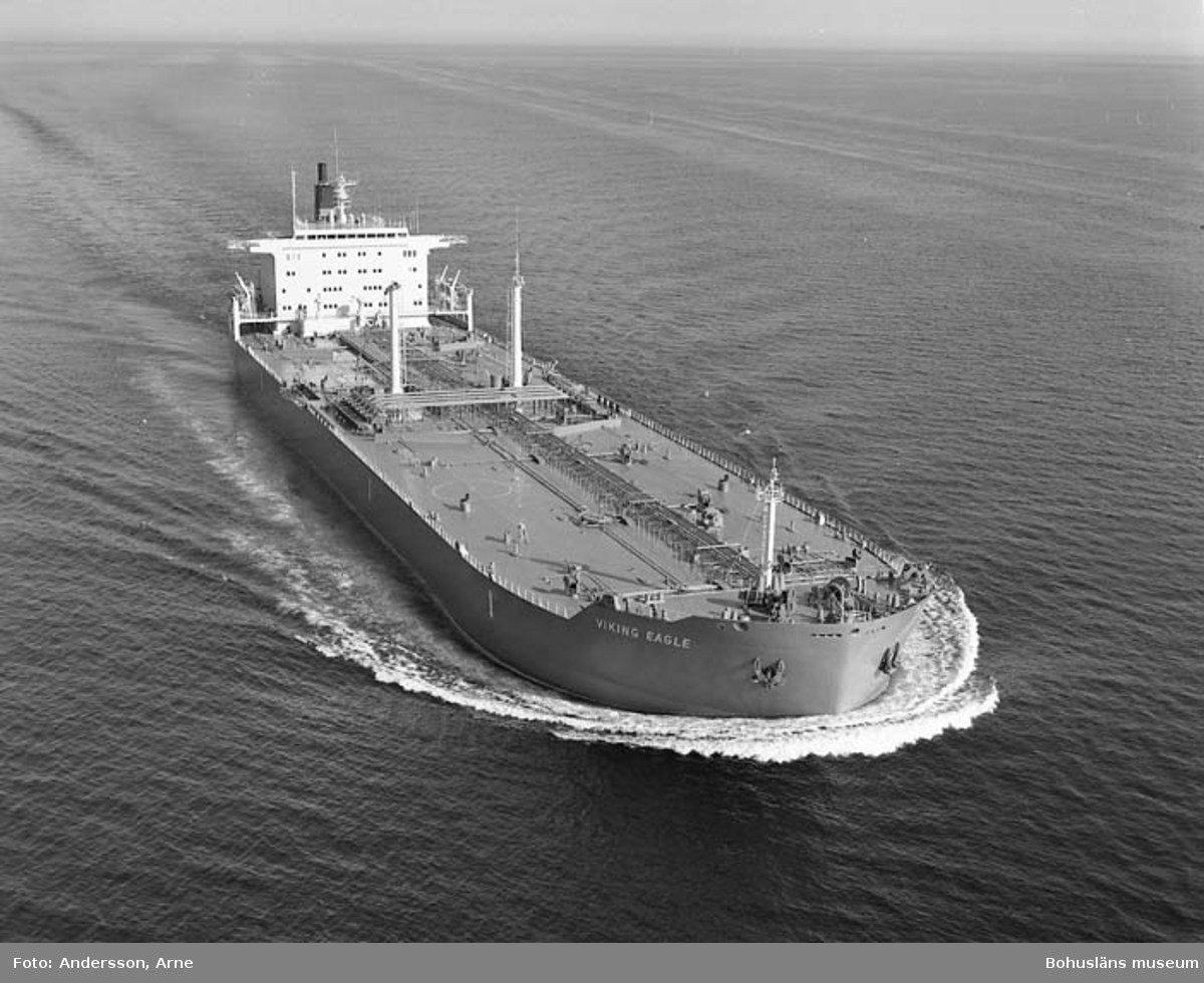 M/T Viking Eagle D.W.T. 81.279 Rederi Norse Shipping Co. (Pte) Ltd., Singapore Kölsträckning 79-06-29 Nr. 309 Leverans 80-05-08 Tankfartyg