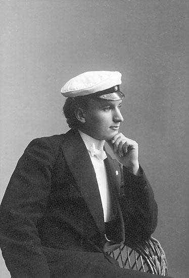 """Stämpel på framsidan: """"Märtha Hammarström, Upsala."""""""