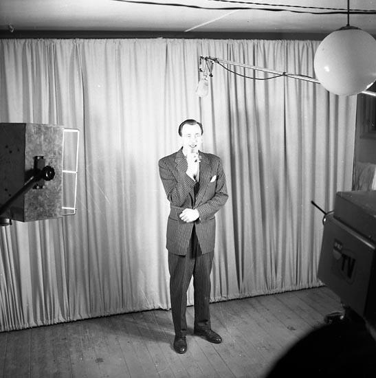 """""""Televisionspremiär i Uddevalla Kongresshallen 13 februari 1955"""""""