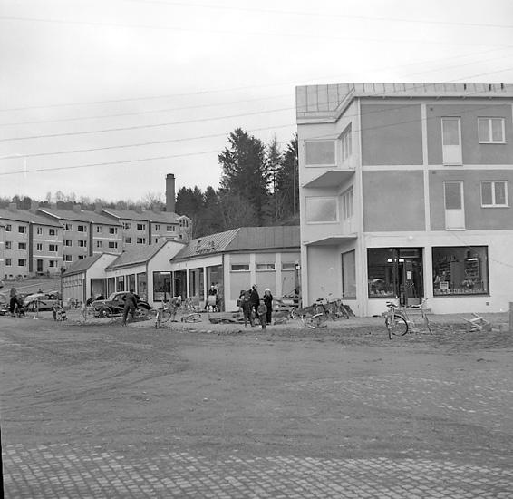 Ny affär på Bohusgården 1956
