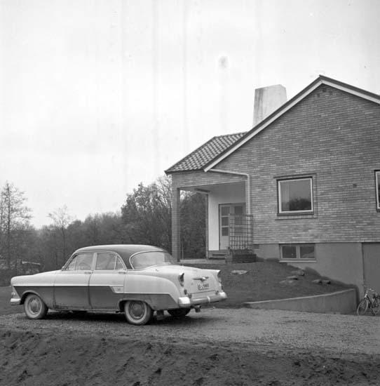 Hemreportage hos familjen Almén 1958