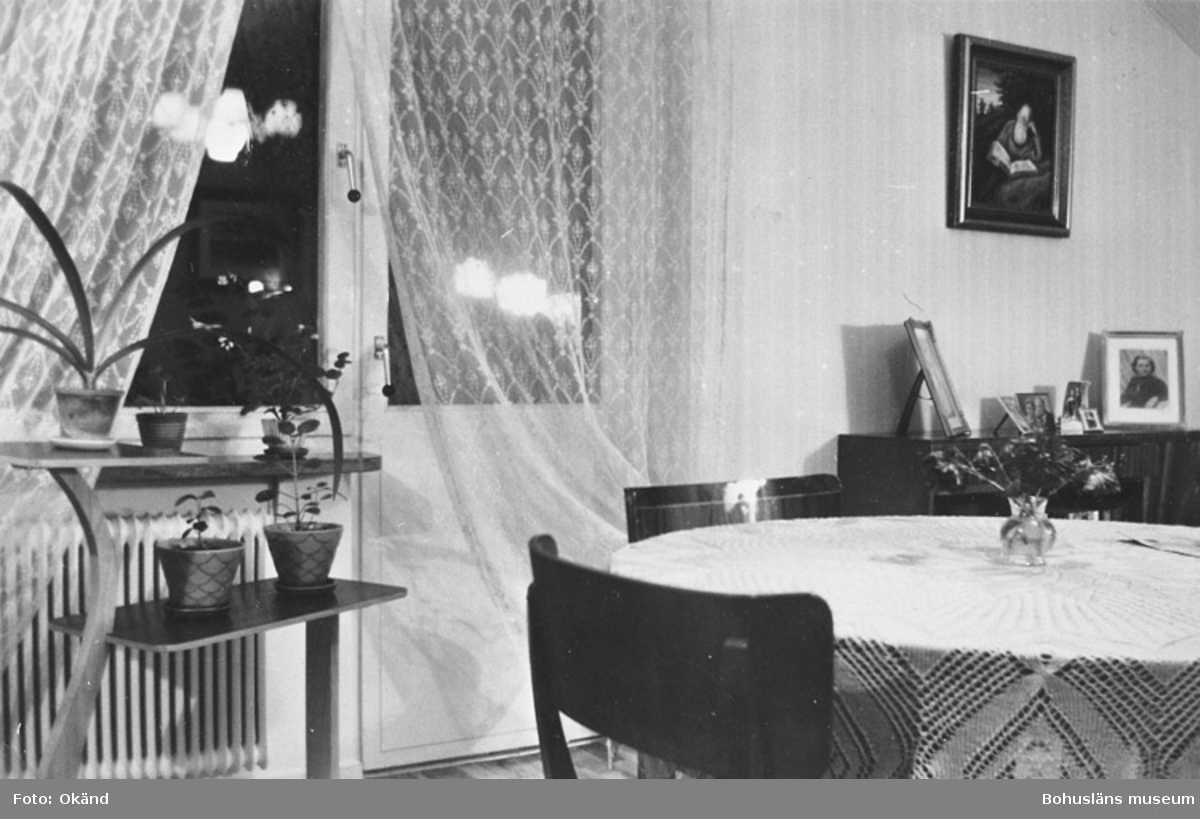 Vardagsrummet, Tallvägen 10, 1952