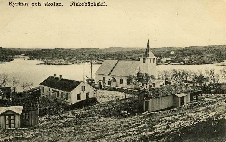 Kyrkan och Skolan. Fiskebäckskil.