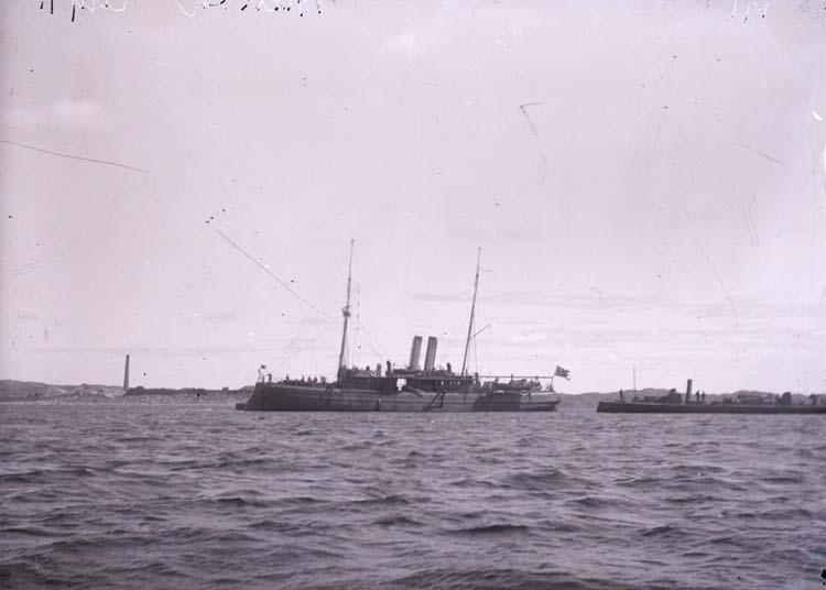 Verkstadsfartyget Blenda 1911.
