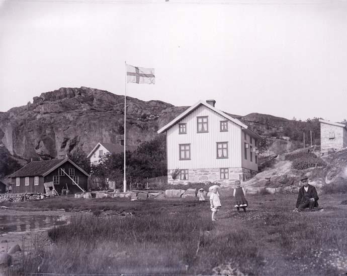 Julius Johanssons gård i Brattås år 1912