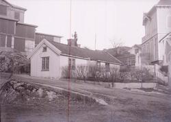 """Enligt text som medföljde bilden: """"Herman Carlsons hus Mars"""