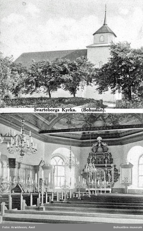 Svarteborgs Kyrka. (Bohuslän).