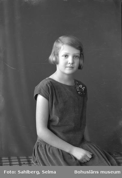 """Enligt fotografens noteringar för bild: """"Trol. Margaretha Bildt?""""."""