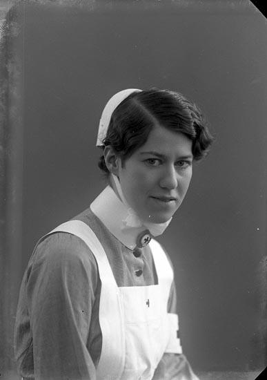Porträtt av sjuksköterska