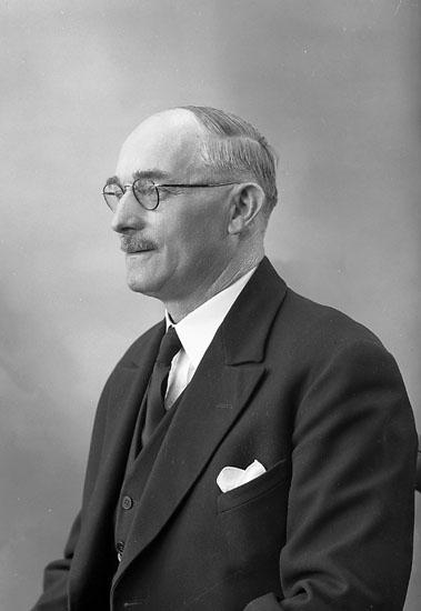 """Enligt fotografens journal nr 7 1944-1950: """"Johansson, Herr Oskar Solgården Turisthotellet""""."""