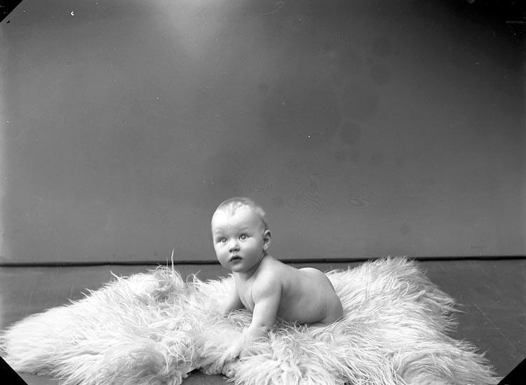 """Enligt fotografens journal nr 5 1923-1929: """"Rehnberg, Gunnar Här""""."""