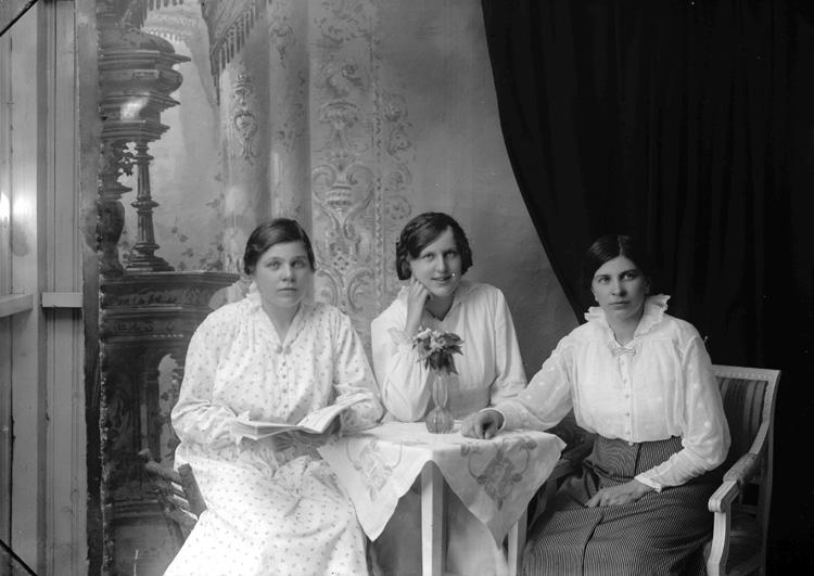 """Enligt fotografens journal Lyckorna 1909-1918: """"Olsson, Anna Alphyddan Lyckorna""""."""