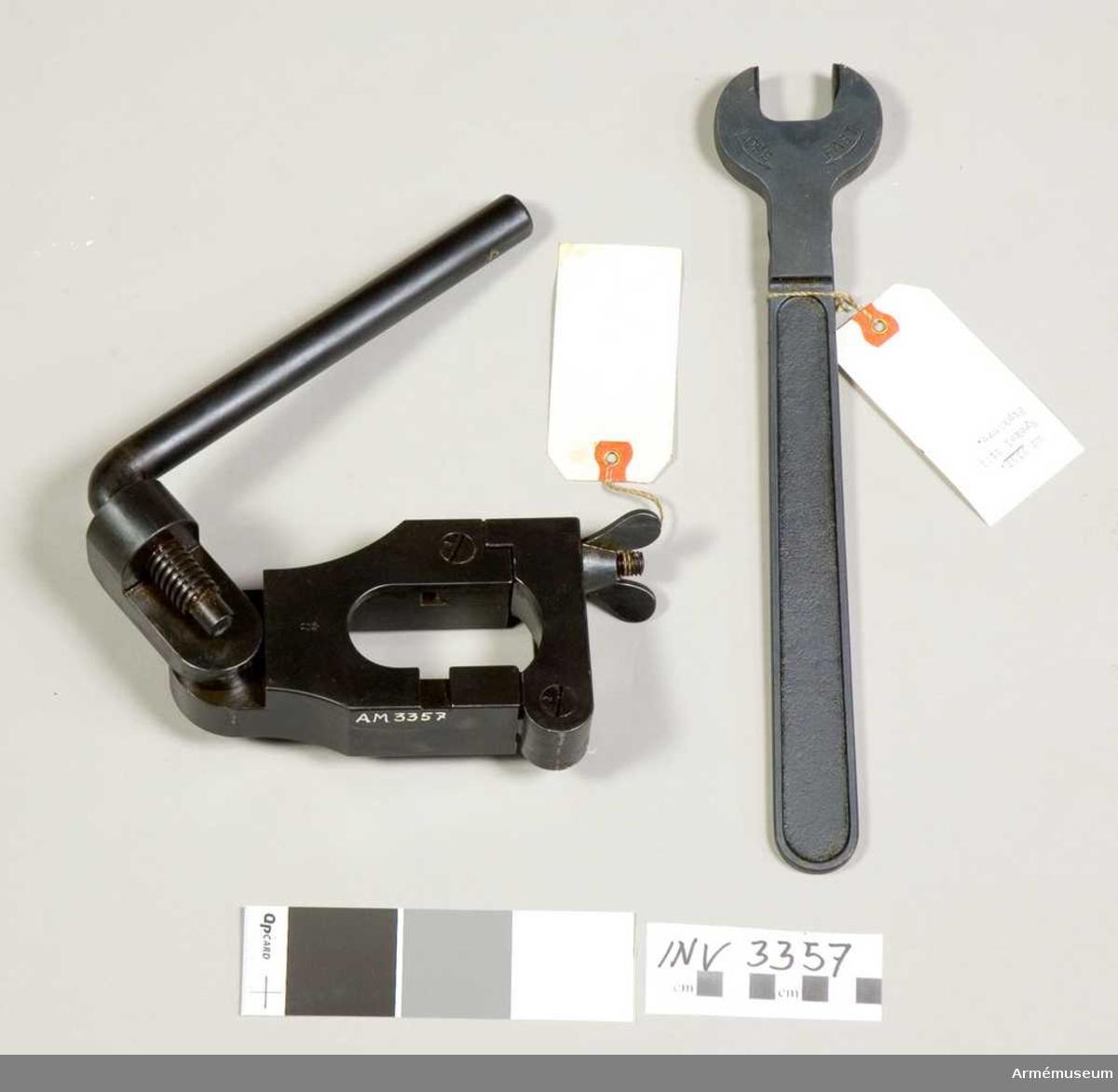 Nyckelns längd 315 mm; vikt 600 gr.