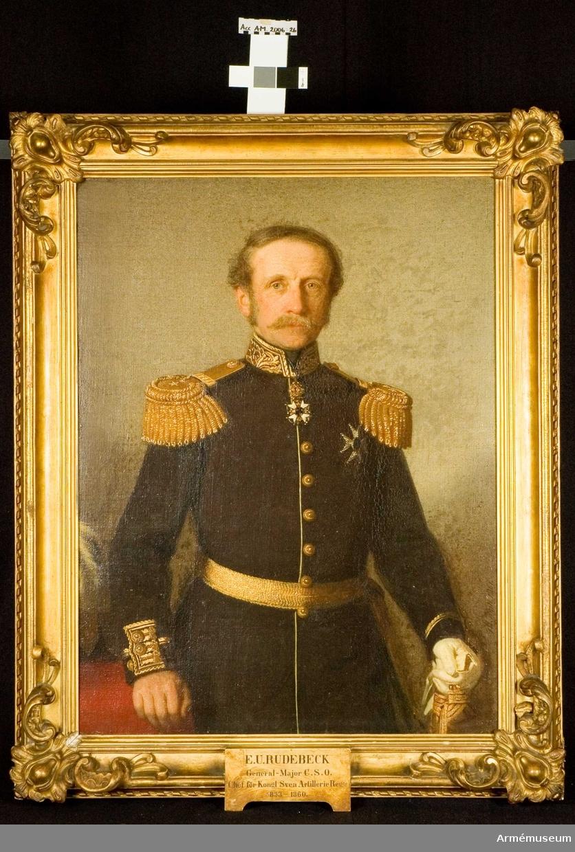 Regementschef Svea artilleriregemente, A1 1853-1860.