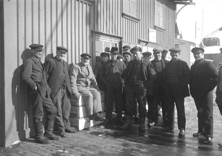 Fiskare på Smögen 1924