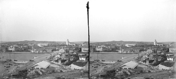9 Augusti 1903. Uts fr sprängn med kyrkan. (Stereo karta V)