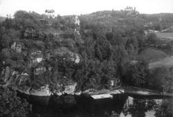 Villa Elfkullen och Tureborg omkring 1910