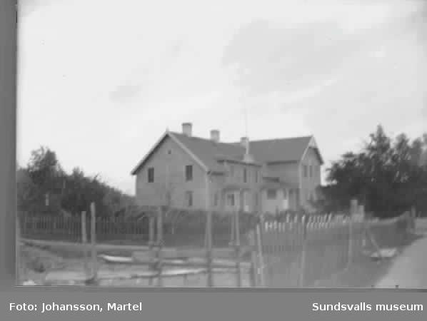 Skolan i Sörfors.