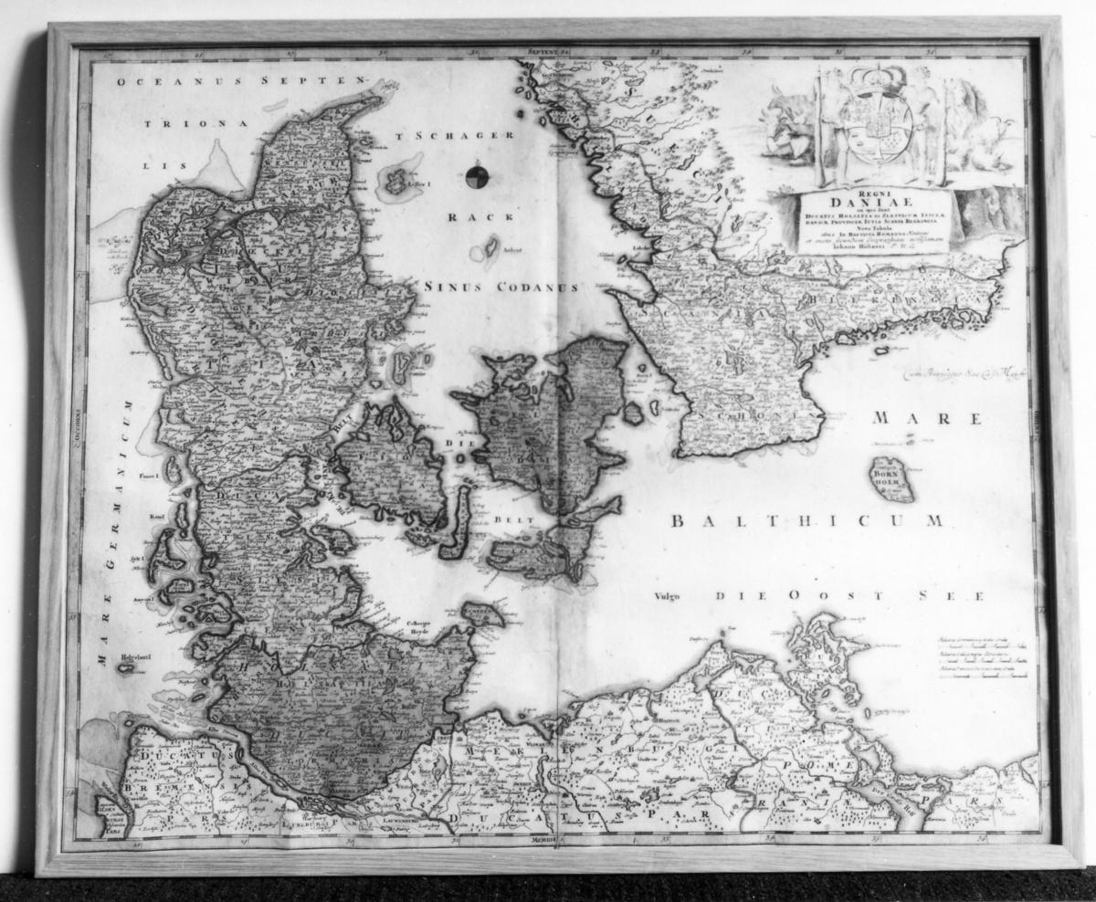 Karta Sodra Danmark.Karta Postmuseum Digitaltmuseum