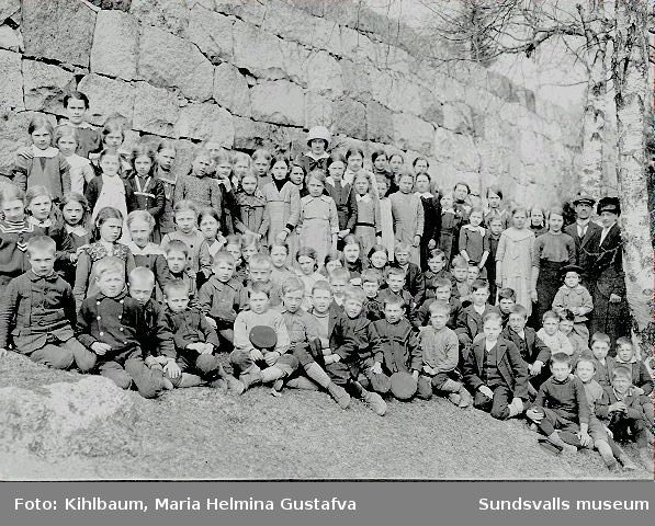 Skolfoto, Timrå, Vivstavarv.