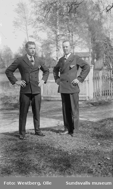 Georg Nordgren och Arvid Jansson.